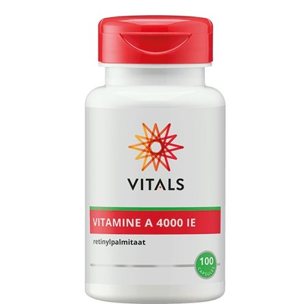 Vitals Vitamine A 4000ie